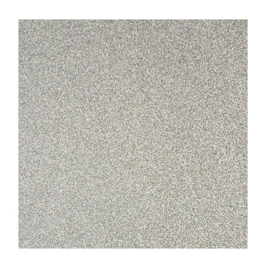 Papier glitter zilver vel