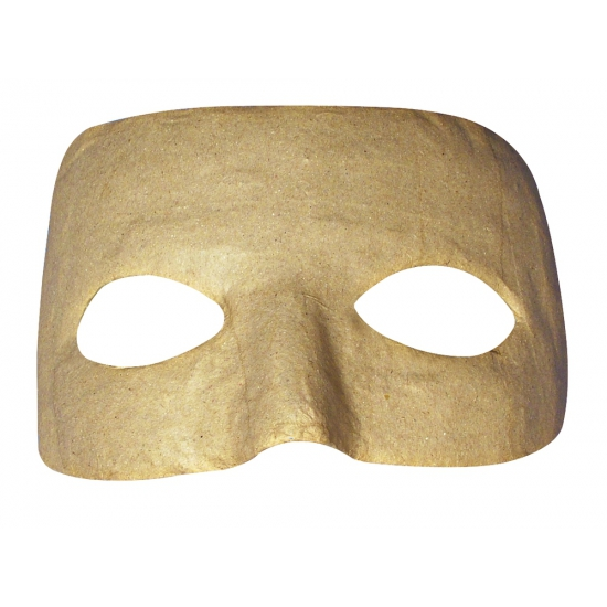 Papier mache hobby maskers