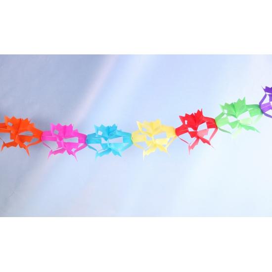 Papieren driehoek feestslinger 6 meter