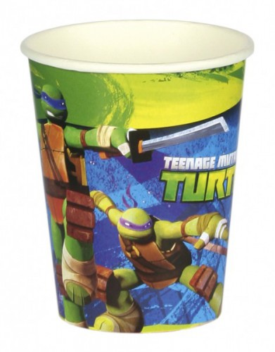 Papieren Ninja Turtles bekers