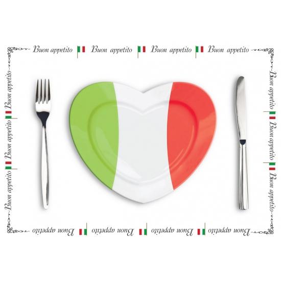 Papieren placemats Italie 10 stuks