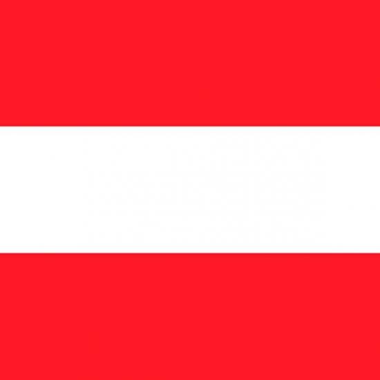 Papieren servetten Oostenrijkse vlag