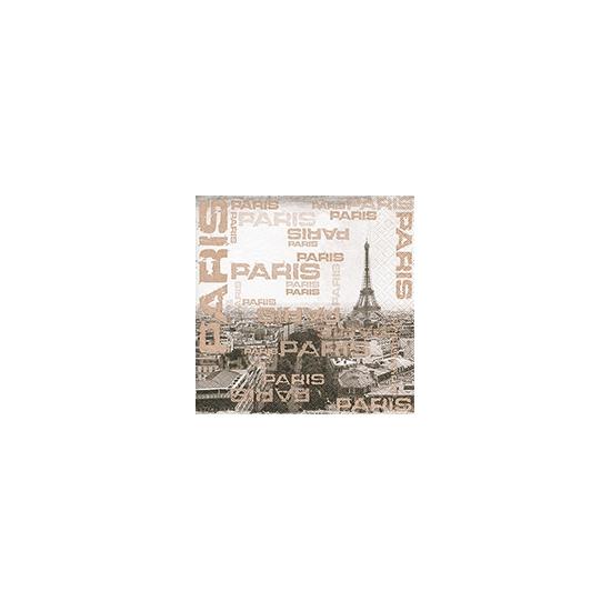 Paris servetten 20 stuks 33 x 33 cm