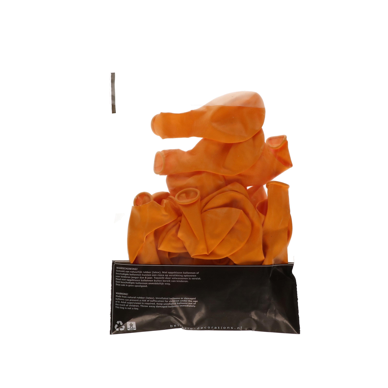 Party ballonnen oranje  100 stuks