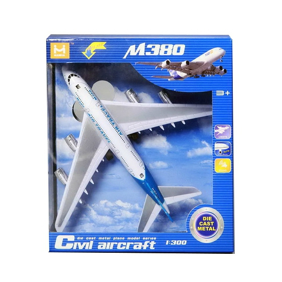 Passagiersvliegtuig schaalmodel