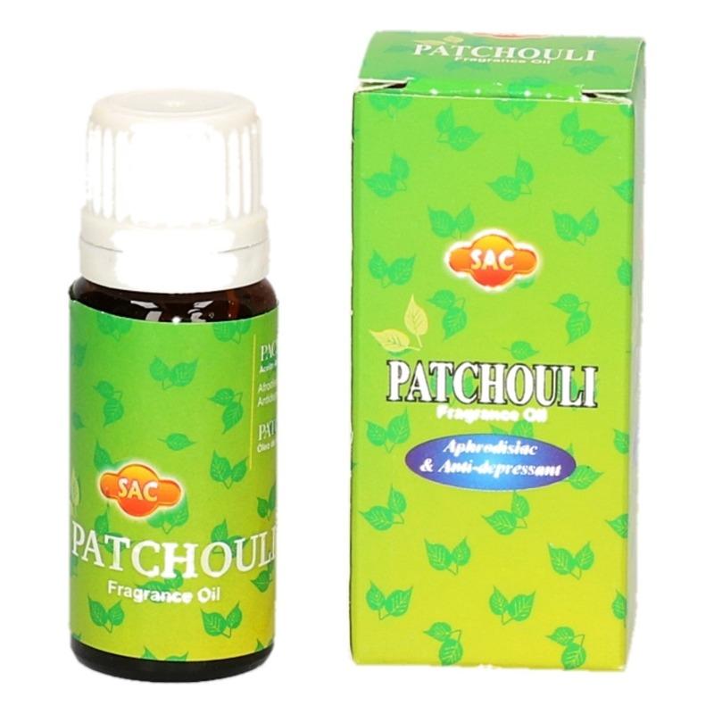 Patchouli geur olie voor in brander