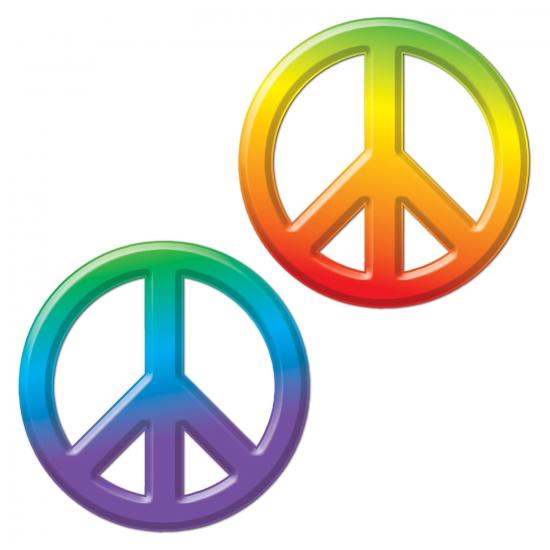 Peace teken 23 cm