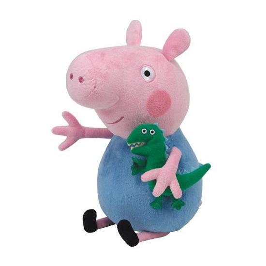 Peppa Pig George knuffeldier 15 cm