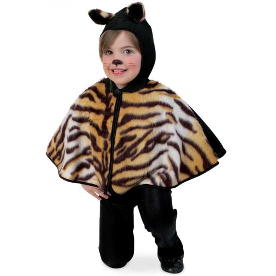 Peuter tijger verkleed ponchos