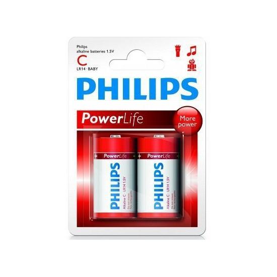 Philips LR14 batterij