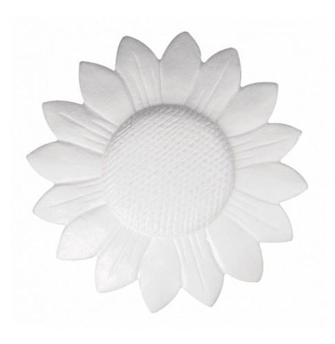 Piepschuim zonnebloem om zelf te versieren