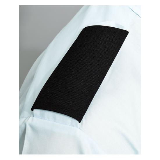 Piloten schouder epauletten zwart