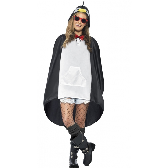 Pinguin party poncho