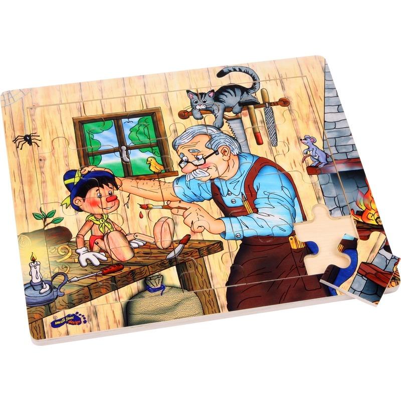 Pinokkio puzzels met 20 stukjes