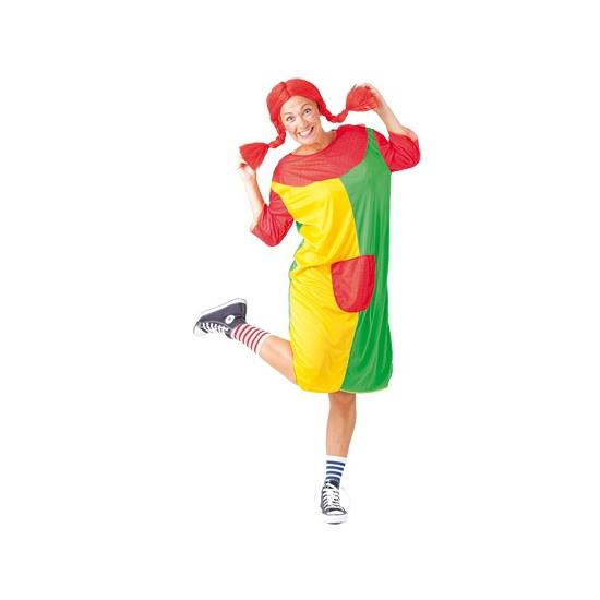 Pippi carnavalskostuum voor dames