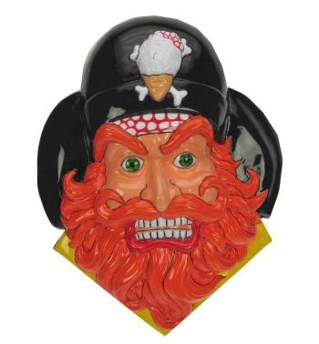 Piraten decoratie 36 x 45 cm