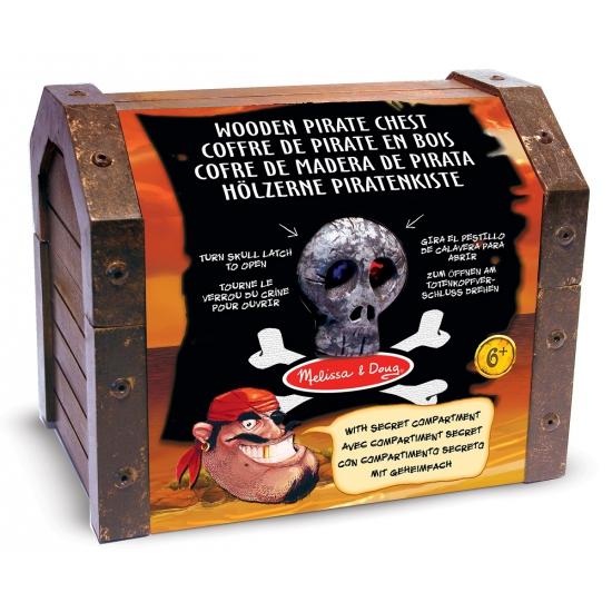 Piraten kist met accessoires