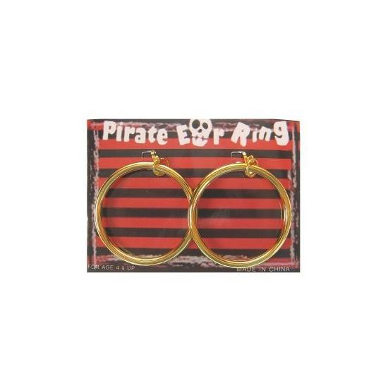 Piraten oorbellen