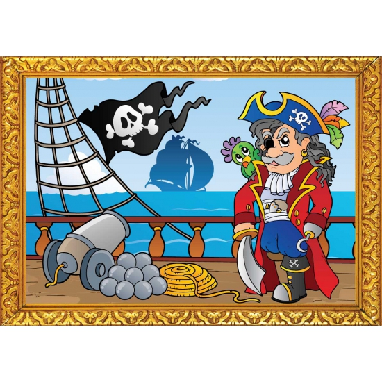 Piratenschip poster