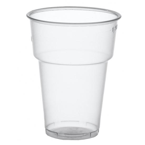Plastic colaglazen 50 stuks