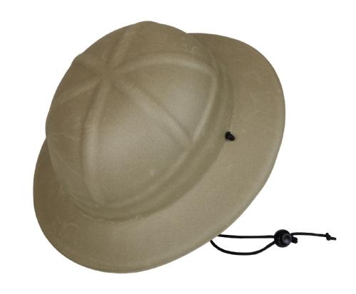 Plastic kinder safari helm