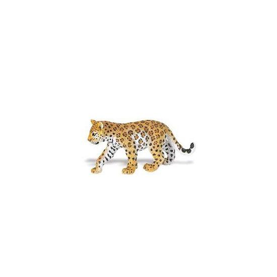 Plastic luipaard welpje speelgoed dier 16 cm