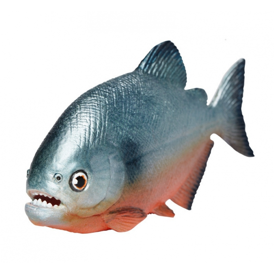 Plastic Piranha speelfiguur 11 cm