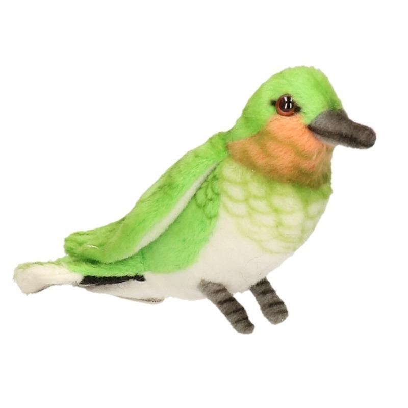 Pluche Kolibrie knuffels 10 cm