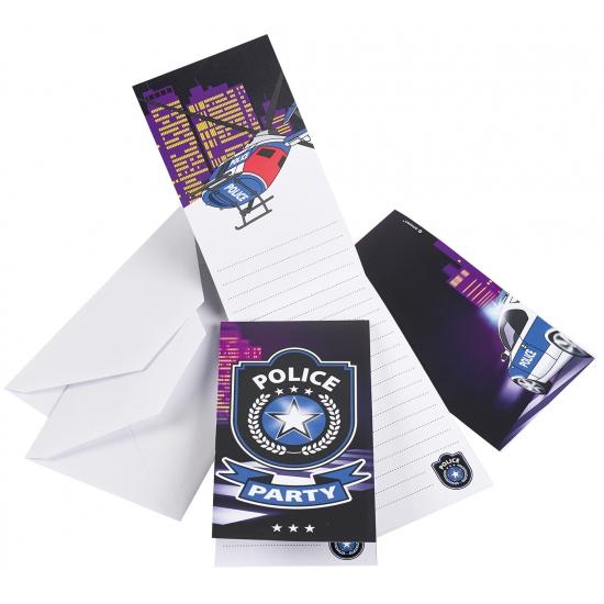 Politie uitnodigingskaarten