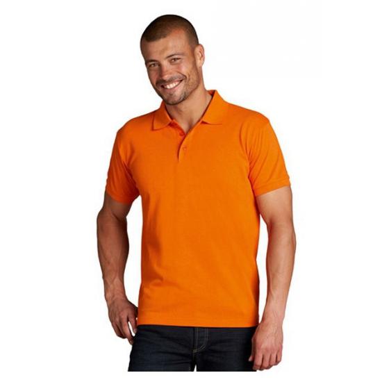 Poloshirts grote maat oranje
