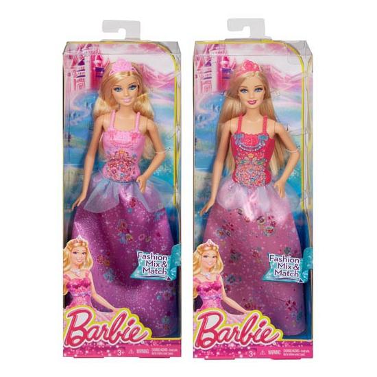 Prinses Barbiepop blond