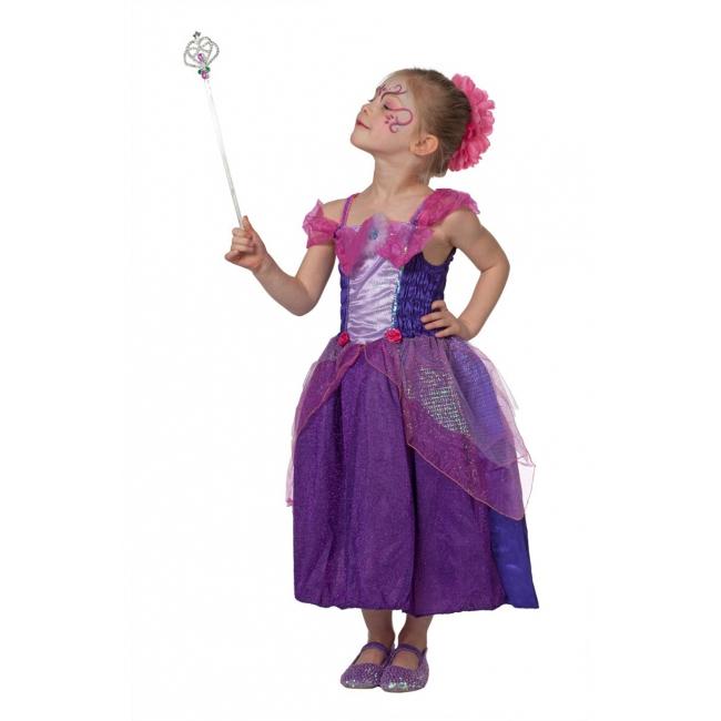 Prinsessen jurk voor meisjes paars