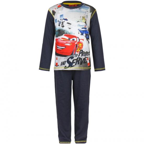 Pyjama Cars donker blauw