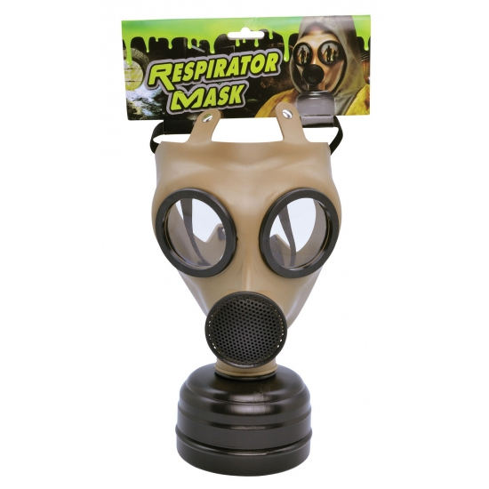 Realistisch nep gasmasker