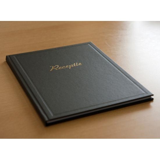 Receptie gastenboek