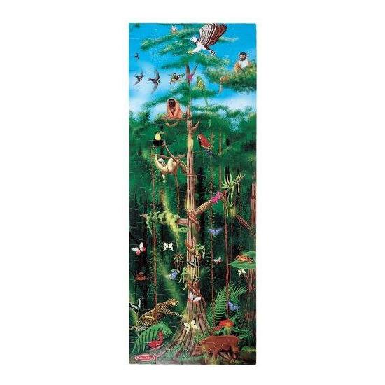 Regenwoud puzzel met 100 stukjes
