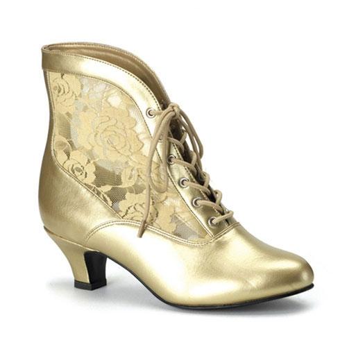 Renaissance schoenen voor dames goud