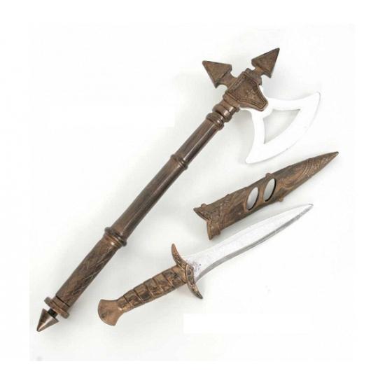 Ridder bijl en mes 2 stuks