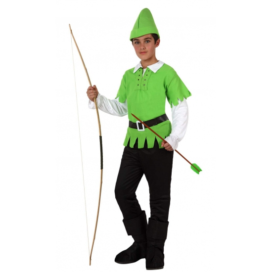 Robin hood kinder verkleed kostuum