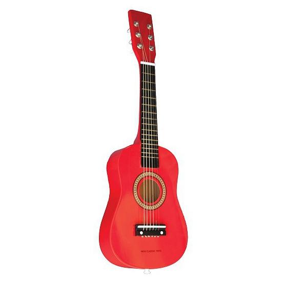 Rode gitaren 60 x 19 x 5 5 cm
