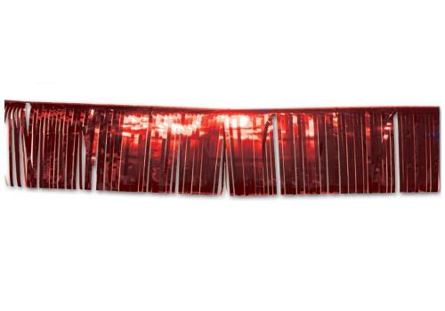 Rode glitter slingers 25 x 300 cm