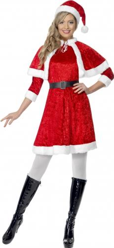 Rode kerstjurkjes met cape