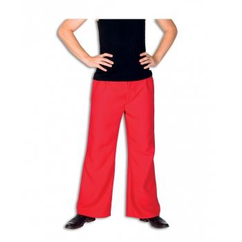 Rode kostuum broek voor heren