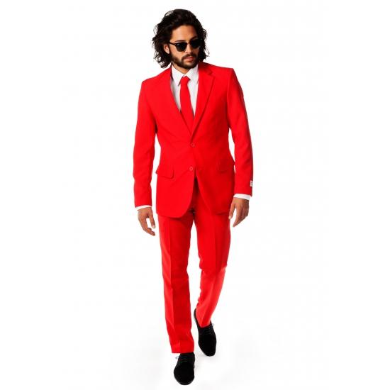 Rode verkleedkleding voor heren