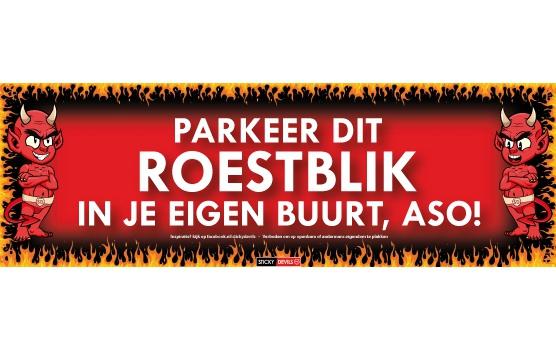 Roestblik Sticky Devil sticker