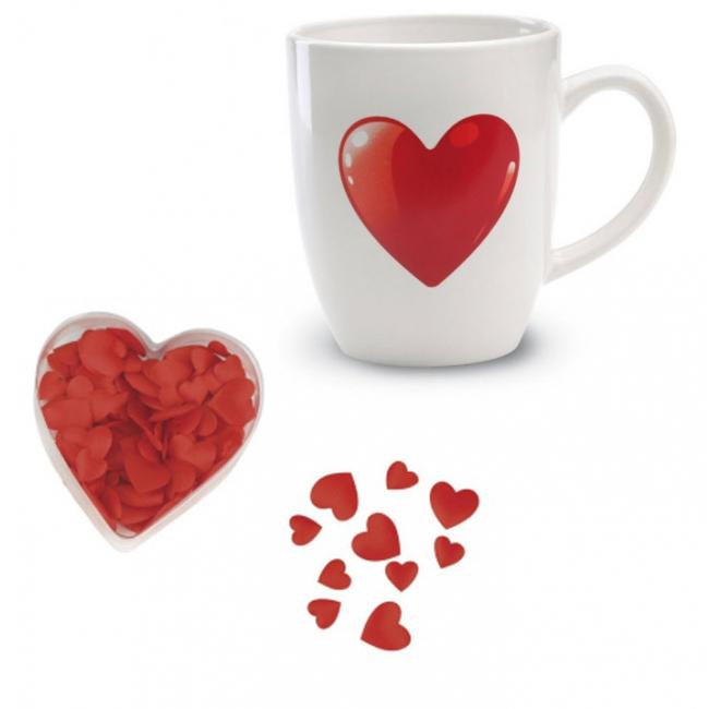 Romantisch ontbijt pakket voor Valentijn