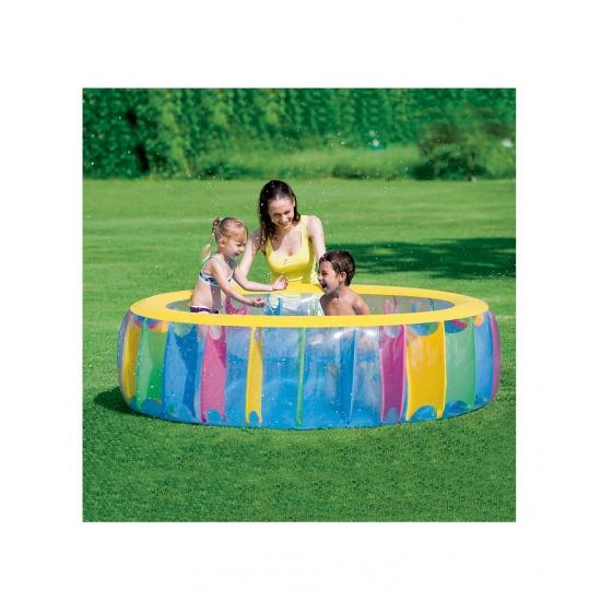 Rond zwembad multicolor 183 cm