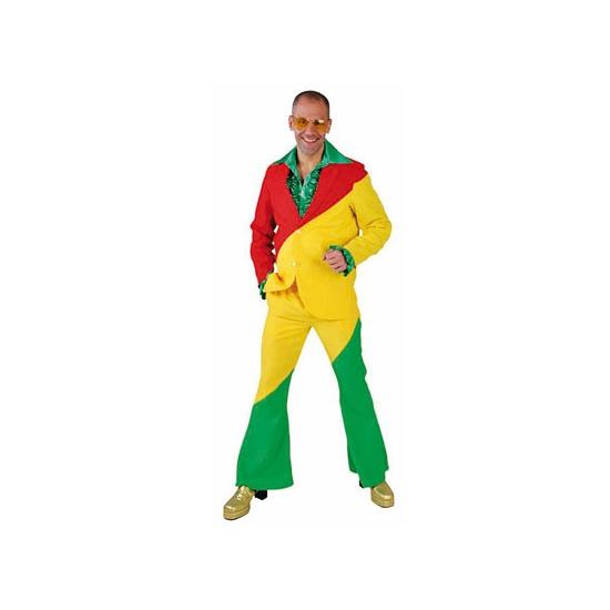 Rood geel groene kostuums voor volwassenen