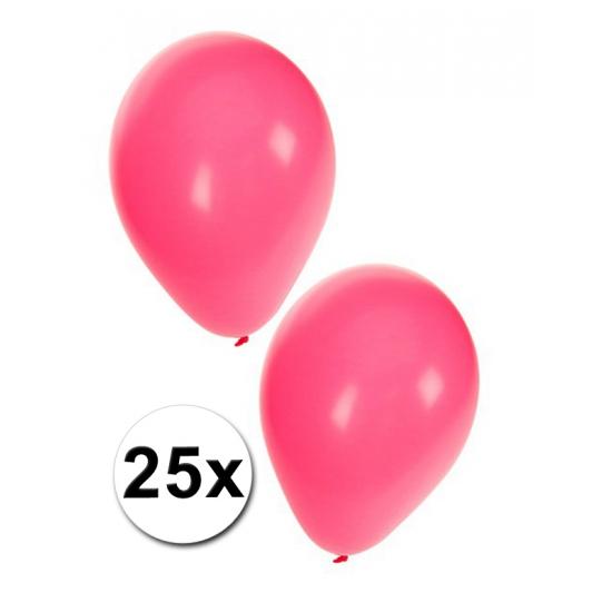 Roze ballonnen 27 cm