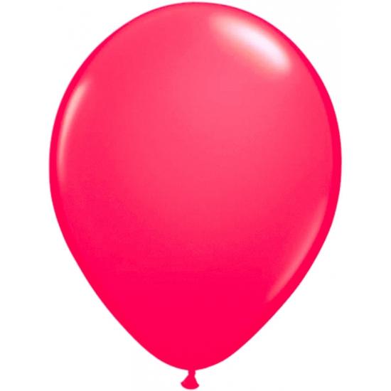 Roze helium ballonnen 50 stuks